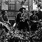 """Three Godfathers,"" MGM 1948. Harry Carey, Jr., John Wayne, and Pedro Armendariz."