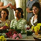 Madeleine Stowe, Keri Russell, and Simbi Kali in We Were Soldiers (2002)