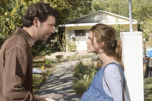 Keri Russell and Jeremy Sisto in Waitress (2007)