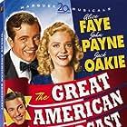Cesar Romero, Alice Faye, Jack Oakie, John Payne, and The Ink Spots in The Great American Broadcast (1941)