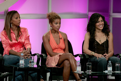 Holly Robinson Peete, Reagan Gomez-Preston, and Ion Overman at an event for Love, Inc. (2005)
