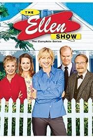 Ellen DeGeneres, Cloris Leachman, Jim Gaffigan, Martin Mull, and Emily Rutherfurd in The Ellen Show (2001)