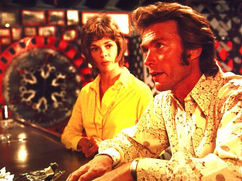 Clint Eastwood and Jessica Walter in Play Misty for Me (1971)