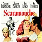 Stewart Granger, Janet Leigh, and Eleanor Parker in Scaramouche (1952)