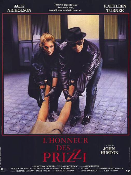 Jack Nicholson and Kathleen Turner in Prizzi's Honor (1985)