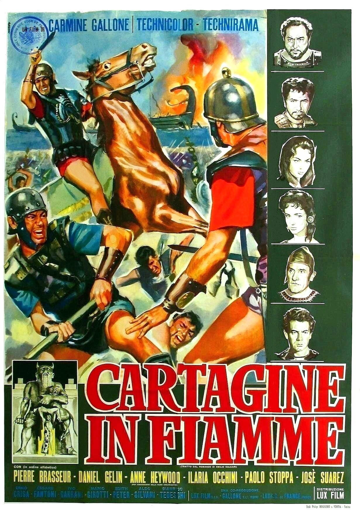 Carthage In Flames 1960 Imdb
