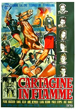 poster Cartagine in fiamme