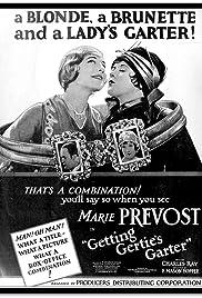Getting Gertie's Garter Poster
