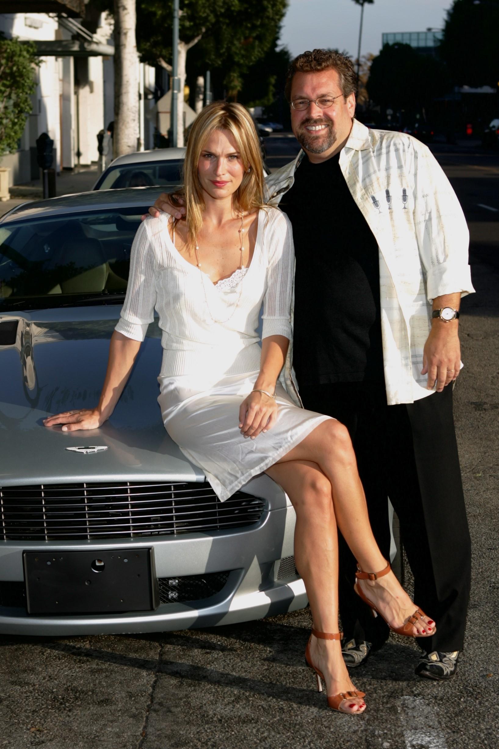 Molly Sims and Gary Scott Thompson