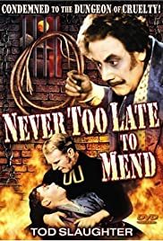 It's Never Too Late to Mend Poster