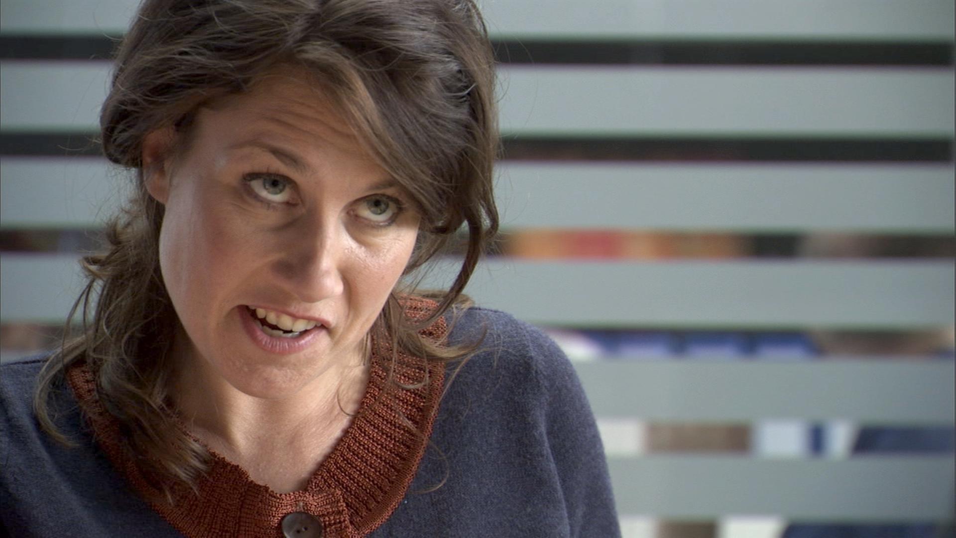 Mia Lyhne in Blå mænd (2008)