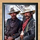 Sam Elliott and Tom Selleck in The Shadow Riders (1982)