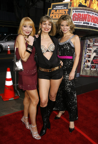 Lorielle New, Rena Riffel, and Olja Hrustic at an event for Grindhouse (2007)
