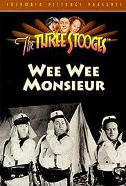 Wee Wee Monsieur(1938) Poster - Movie Forum, Cast, Reviews