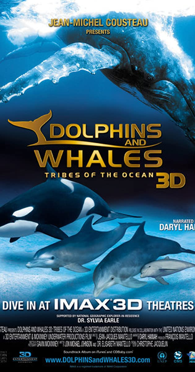 Subtitle of Dolphins and Whales 3D: Tribes of the Ocean