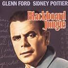Glenn Ford, Sidney Poitier, Paul Mazursky, Rafael Campos, Vic Morrow, and Dan Terranova in Blackboard Jungle (1955)