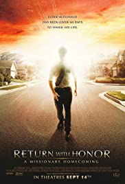 Return With Honor A Missionary Homecoming Poster