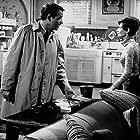 """3809-109 """"Wait Until Dark"""" Audrey Hepburn and Richard Crenna"""