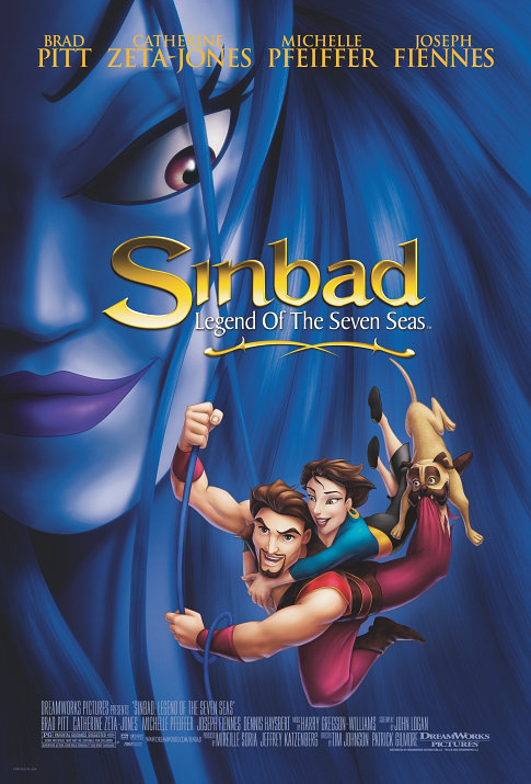 SINBADAS: SEPTYNIŲ JŪRŲ LEGENDA / SINBAD: LEGEND OF THE SEVEN SEAS