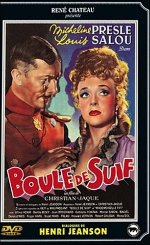 Micheline Presle and Louis Salou in Boule de suif (1945)