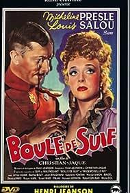 Micheline Presle and Louis Salou in Boule de suif (1945)