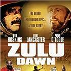 Burt Lancaster, Peter O'Toole, and Bob Hoskins in Zulu Dawn (1979)