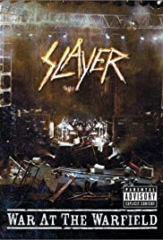 Slayer: War at the Warfield Poster