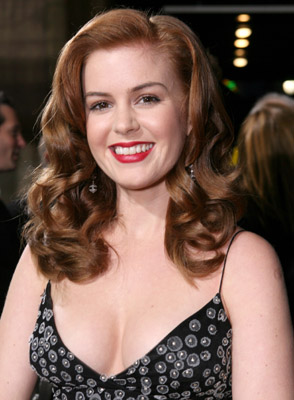 Isla Fisher at an event for The Lookout (2007)