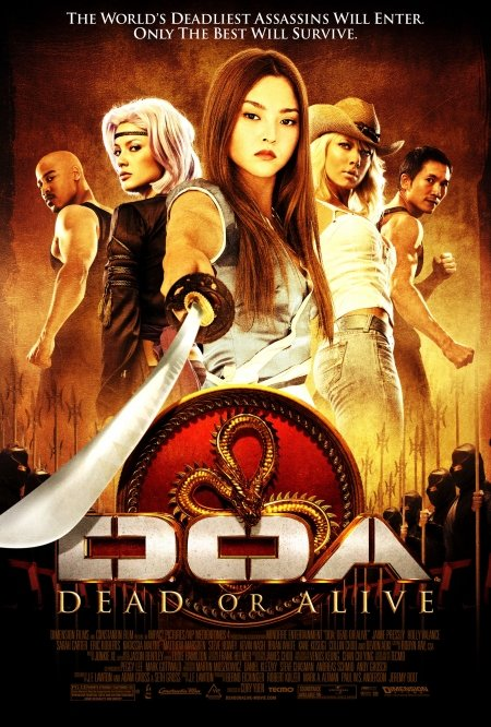 DOA: Dead or Alive (2006) Hindi Dubbed