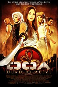 Sarah Carter, Kane Kosugi, Natassia Malthe, Holly Valance, Brian White, and Devon Aoki in DOA: Dead or Alive (2006)