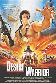 Desert Warrior Poster