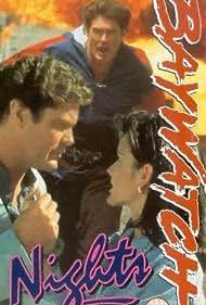 David Hasselhoff and Angie Harmon in Baywatch Nights (1995)