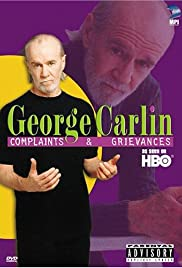 George Carlin: Complaints & Grievances Poster