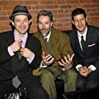 Mike D, Adam Horovitz, and Adam Yauch at an event for Awesome; I Fuckin' Shot That! (2006)