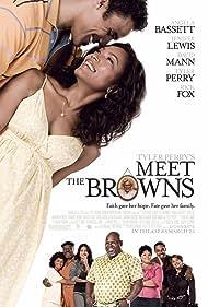Angela Bassett, Frankie Faison, Rick Fox, and David Mann in Meet the Browns (2008)