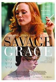 Julianne Moore and Eddie Redmayne in Savage Grace (2007)