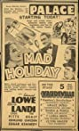 Mad Holiday (1936) Poster
