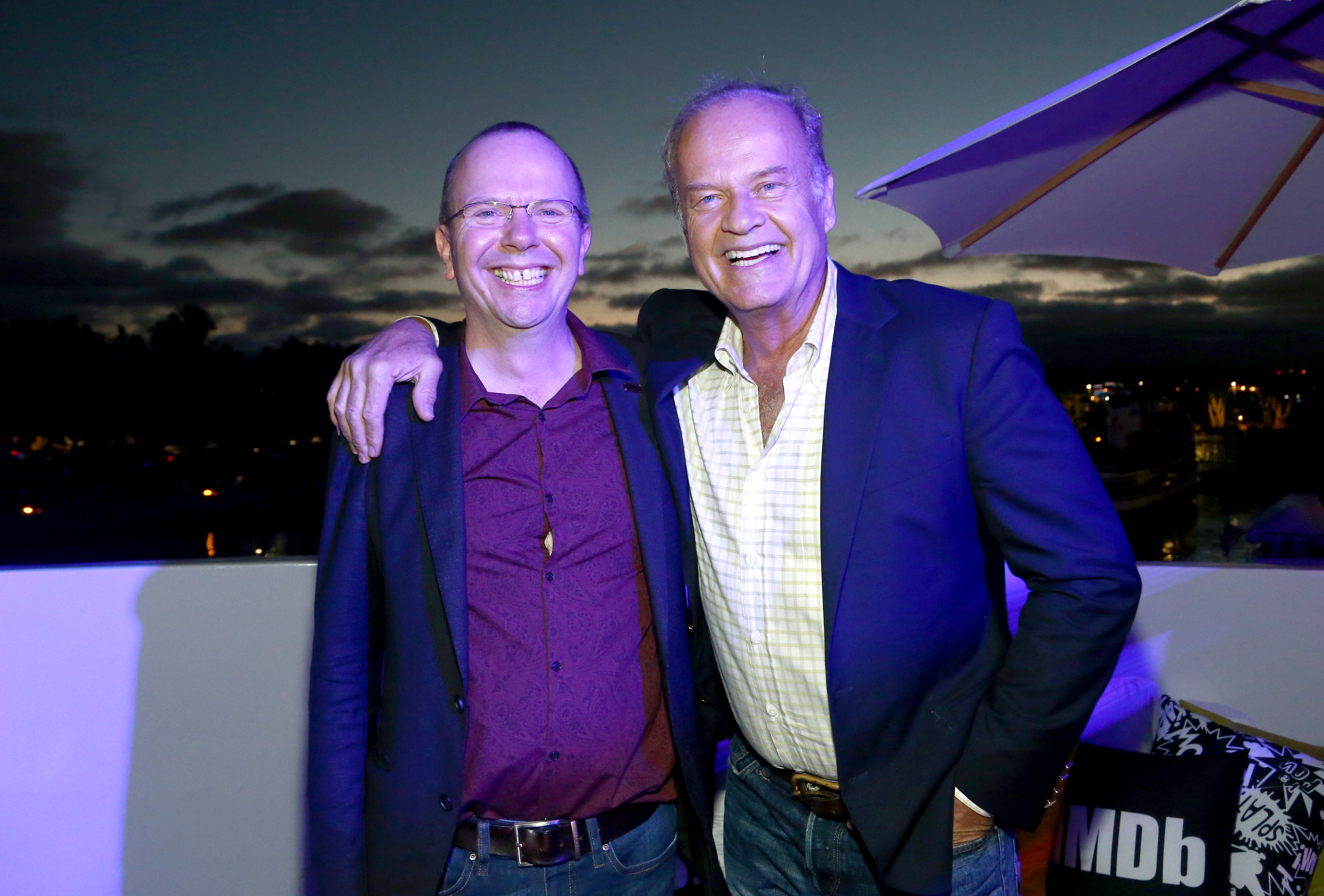 Kelsey Grammer and Col Needham at an event for IMDb at San Diego Comic-Con (2016)