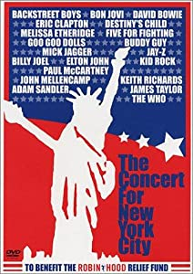The Concert for New York City none