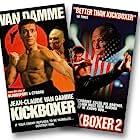 Jean-Claude Van Damme, Sasha Mitchell, and Michel Qissi in Kickboxer (1989)