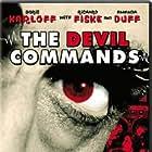 Boris Karloff and Amanda Duff in The Devil Commands (1941)