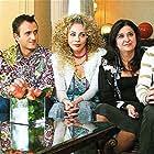 Smaragda Karydi, Elissavet Konstantinidou, Angeliki Lambri, Argyris Angelou, and Giorgos Kapoutzidis in Sto para 5 (2005)