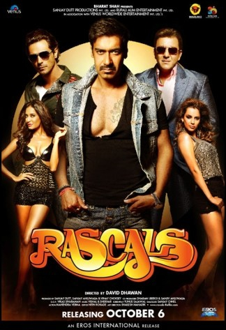 Rascals 2011 Hindi 350MB HDRip 480p Download
