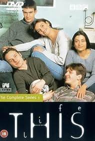 Jack Davenport, Amita Dhiri, Jason Hughes, Andrew Lincoln, and Daniela Nardini in This Life (1996)