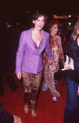 Ashley Judd and Naomi Judd at an event for Alien: Resurrection (1997)