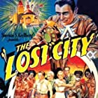 William 'Stage' Boyd, Claudia Dell, Eddie Fetherston, Kane Richmond, and Josef Swickard in The Lost City (1935)