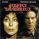 Cher and Dennis Quaid in Suspect (1987)