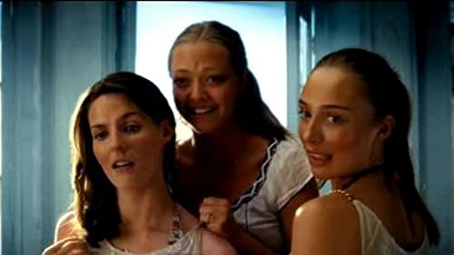 This is the second theatrical trailer for Mamma Mia!, directed by Phyllida Lloyd.