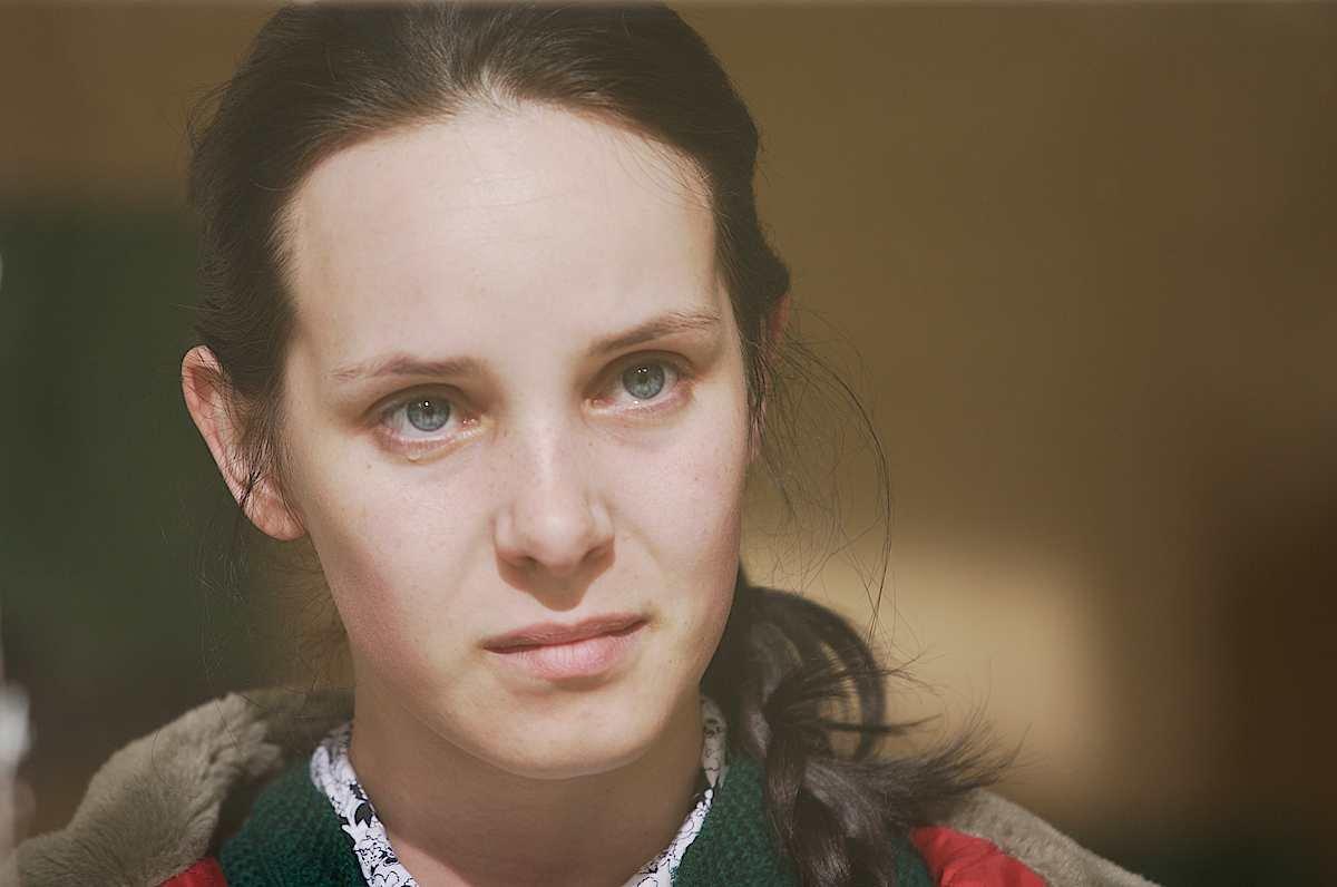 Valda Bickute (as Valda) from the set of film LOSS