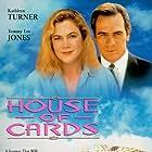 Tommy Lee Jones, Kathleen Turner, and Asha Menina in House of Cards (1993)
